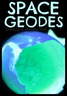 Make your own space geodes from egg shells