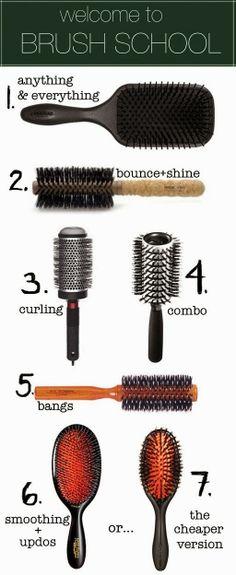 Hair Brush School