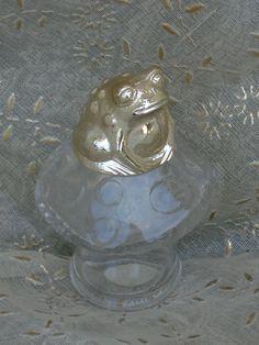 Sweet Honesty Fairytale frog perfume bottle from Avon