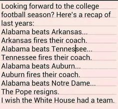 Not an Alabama fan AT ALL. But that's some funny shit.