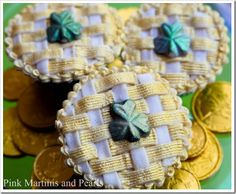 St. Patrick's Day Boozy Buttercream Cupcakes and a Bailey's Martini