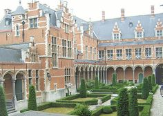 Mechelen Palace in Belgium, Anne Boleyn's home from early 1513 to late 1514. Margaret of Austria, her patroness wrote that she was very pleased with the charming and intelligent 'la petite Boulan'.