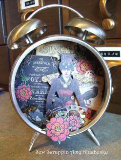 Steampunk Spells Altered Clock