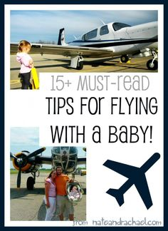 Anyone planning to fly with a baby NEEDS to read these travel tips! nateandrachael.com