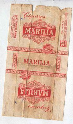 cool vintage label