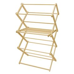 Hand Crafted Wooden Clothes Drying Rack 3 ft. w/ Sweater Rack, Yoder's Shipshewana Hardware, Inc.