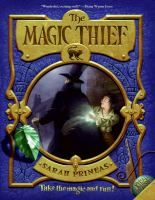 Trilogy- The Magic Thief- Follows the adventures of Connwaer, a thief, who is taken into apprenticeship by Nevery Flinglas, an old wizard.