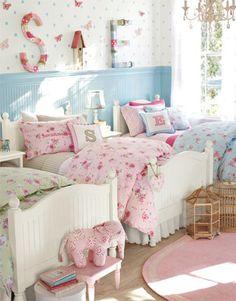 Decoración Infantil: Dormitorios para tres niñas