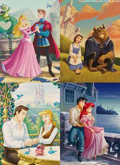 Royal couples.