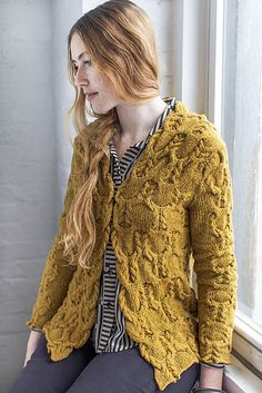 Kenzo by Olga Buraya-Kefelian - Wool People Vol. 4 #knitting