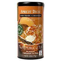 Republic of Tea Apricot Decaf Black Tea