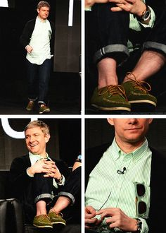 Martin at the Fargo panel. It's ALL about the details! <3<3<3