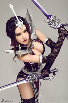 geek, costum, witchblade cosplay, awesom cosplay, cosplay sexi, witchblad cosplay, cosplay girl, swords, sexi cosplay