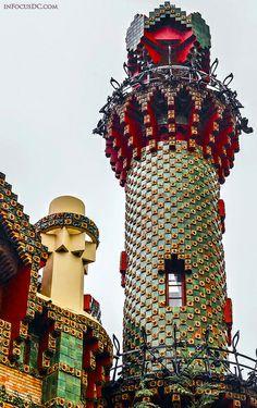 I need to go back to Spain and get here: El Capricho de Gaudí; Comillas, Cantabria