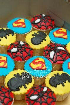 Razzle Dazzle Party Box: Theme Birthday Party: Superhero