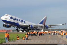 Transaero Airlines EI-XLI Boeing 747-446 aircraft picture