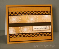Make A Wish Sun-Kissed Autumn Card - stampTV- click the photo to watch the video.