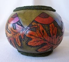 /medium-green-gourd-bowl-wood-burned