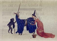 'Hours of Engelbert of Nassau', Flanders ca. 1470-1490. Bodleian Library, MS. Douce 219, fol. 96v
