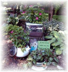 tea time planters