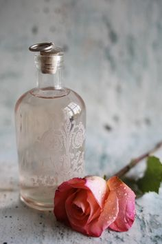 Homemade Rose Water
