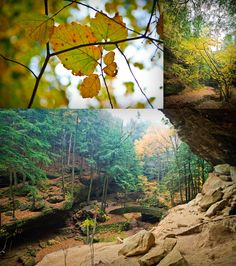 Hocking Hills State Park very rural Ohio ... I'm not generally a fan of the Midwest but this place is a little paradise of sweet B and gorgeous nature.