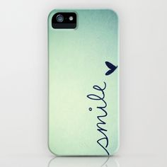 s  m  i  l  e  iPhone Case by Rubybirdie - $35.00
