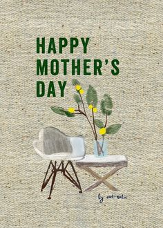 Free downloadable card by Cat Seto for Anthology Magazine http://anthologymag.com/blog3/2013/05/09/cat-seto-mothers-day-card/