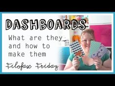 Filofax Dashboard - How to make & What with! - Filofax Friday - Week 15