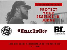 Dough From Da Go #HelloHipHop event