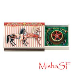 Matchbox Music Box REMINDS ME OF FRANKS GIFT TO EACH OF US ONE CHRISTMAS