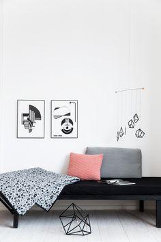 Mobile + bedcover + Illustration | Kristina Dam Studio