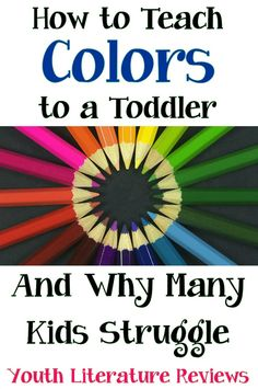 Teaching Colors to Toddlers