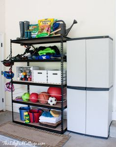 Garage Organization Tips - The Lilypad Cottage garage organization