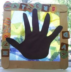 fathers day crafts, handprint, mother, hand print, father day, catcher craft, fathers day gifts, preschool idea, happy fathers day