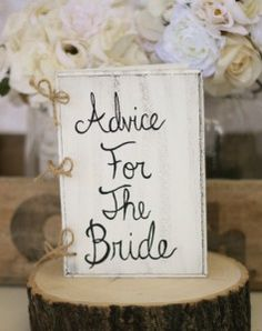 wedding or bridal shower guest book idea