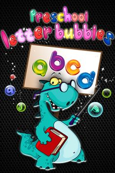 PreSchool Letter Bubbles ($0.99) Fling objects, Pop letter bubbles, Identify animals.  * Simple, fun and addictive with tons of replay ability.  * Helps hone skills of letter recognition, vocabulary, memory.  * Picture/Letter association - Each time a letter bubble pops, the corresponding animal is shown and it's name is said.  * Helpful and sweet audio that encourages your learning and playful child.   * Multiple random objects to fling at the bubbles.