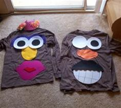 Project Center - DIY Mr. and Mrs. Potato Head Costumes