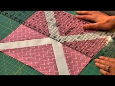 January Block of the Month: Lesson Two - Free Quilting Class with Amy Gibson on Craftsy.com - YouTube
