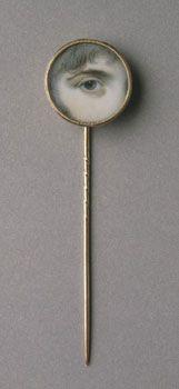 lover eye, eye miniatur, miniatur gold, lover's eye, philadelphia museum