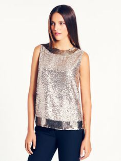 a wear-with-everything party top that looks great with jeans, too: the serene top by kate spade new york. (november 2013)