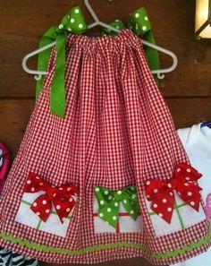little girls, pillowcas dress, pillowcase dresses, christmas dresses, holiday dress