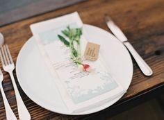 radish placesetting // jen huang // grey likes weddings