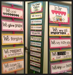 Classroom Rules Display! A gorgeous way to pick and choose your own rules, and display them with style in your classroom this year. Editable cards are included to create your own rules. $