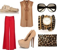 """""""REDy or Not"""" by theaffluentacademy on Polyvore"""
