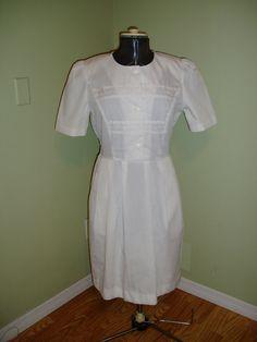 Vintage Nurse Uniform 1980s by LuLusVintageMart on Etsy, $12.00
