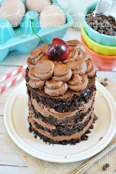 Favorite Chocolate Cake Recipe