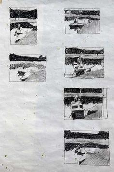 Studies and Drawings by Robert M. Cunningham
