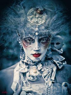 face, artists, fantasi, ludhy, makeup, inspiring photography, baby dolls, masquerad, photographi