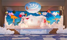 VBS backdrop for SKY